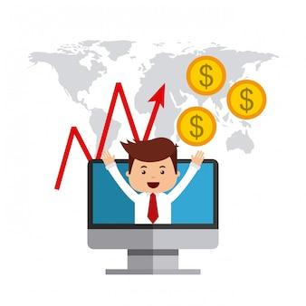 国際証券取引所のアイコン