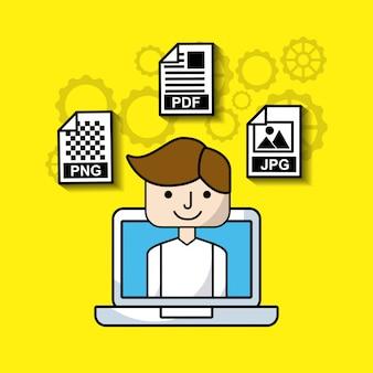 Управление электронными форматами