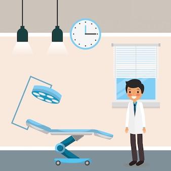 Мультфильм медицинских людей