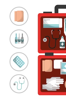 応急処置キット医療健康