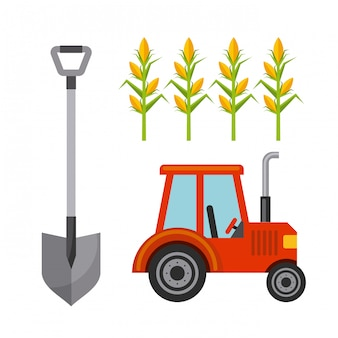 農業のアイコンデザイン