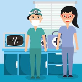 Люди медицинская профессия