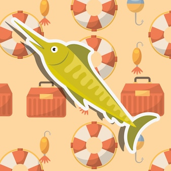 魚釣り漫画
