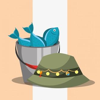 Рыболовные снасти, связанные