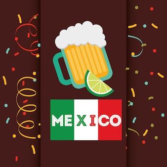 Дизайн мексиканских напитков