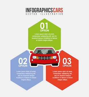 Инфографика автомобиля