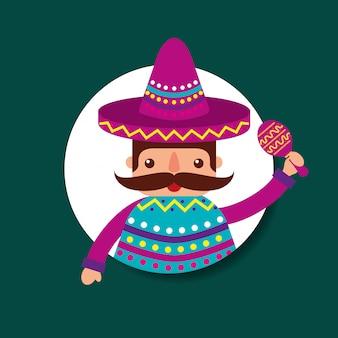 ビバメキシコのお祝い