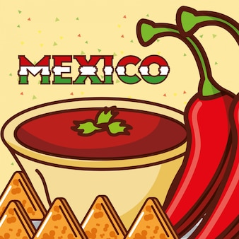 Мексиканская продовольственная карта