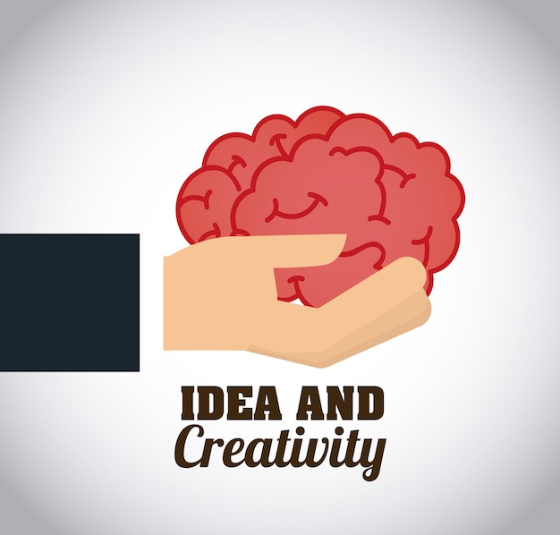 Креативный дизайн мозга