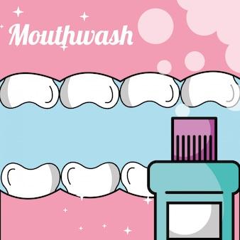 口の中の歯とガム