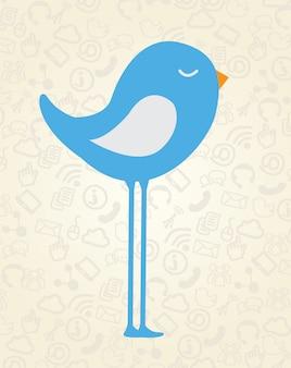 鳥のデザイン