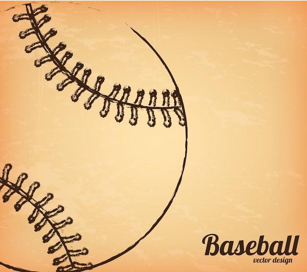 Бейсбол дизайн