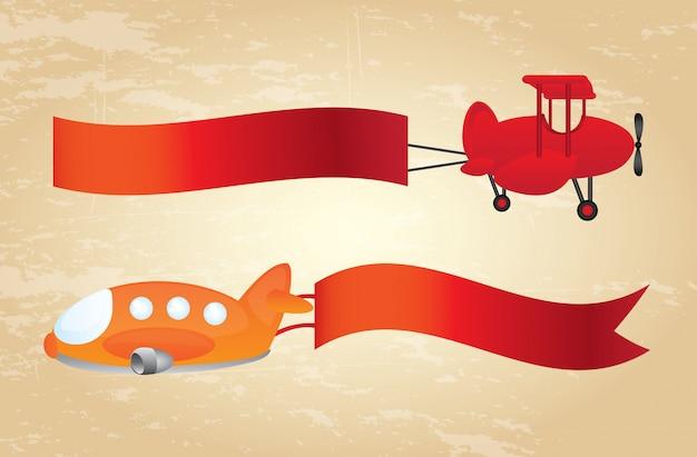 Рекламные самолеты