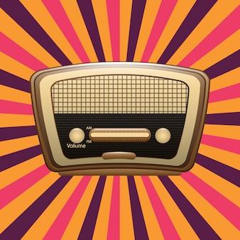 Радио старое