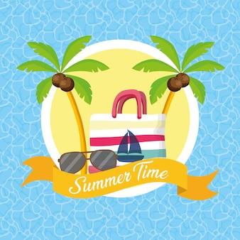 Иллюстрация летнего времени