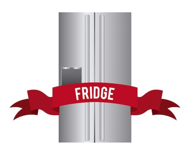 冷蔵庫の単純な要素
