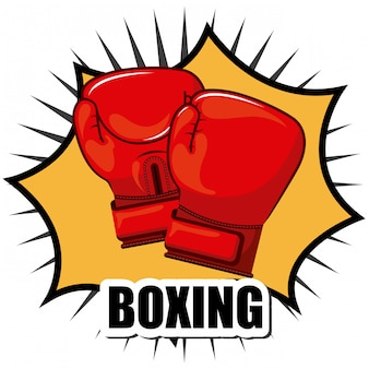 ボクシングの単純な要素
