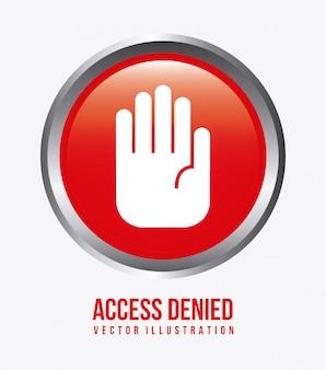 アクセス拒否デザイン