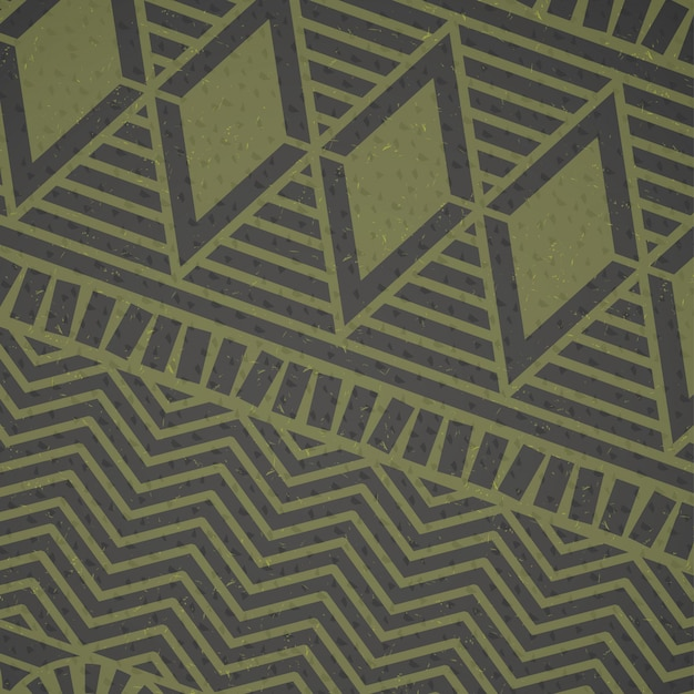 アフリカの緑の模様