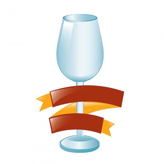 Чашка с лентой
