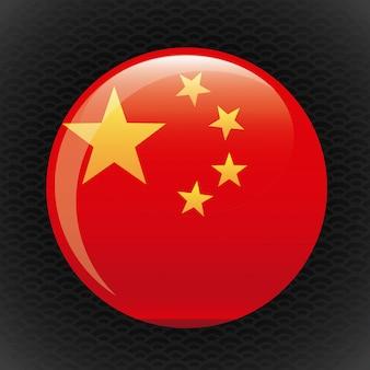 中国ボタン
