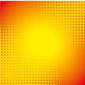 オレンジ色の壁紙イラスト