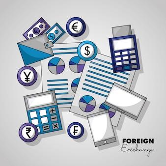 外国為替の背景