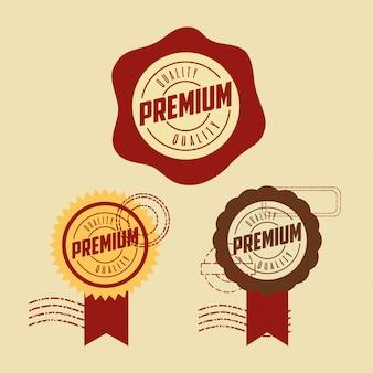 プレミアム品質のスタンプセット