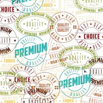 Набор марок премиум качества