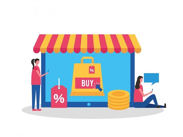 オンラインで購入する人