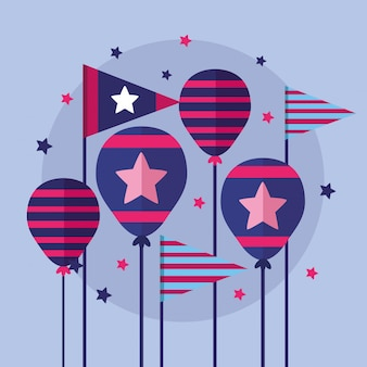 アメリカの幸せな独立記念日