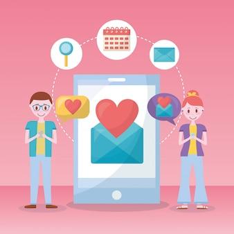 Мобильная любовь связана
