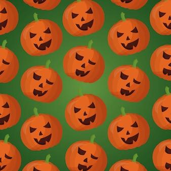 Счастливый день хэллоуина бесшовный фон