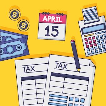納税のコンセプト