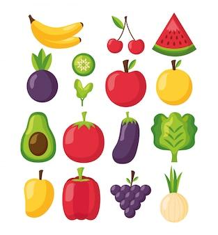 Здоровая пища свежая