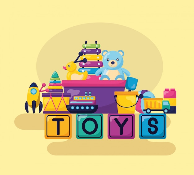 Дизайн детских игрушек