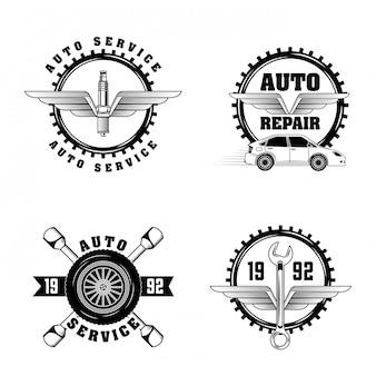 Этикетки автомобильной промышленности