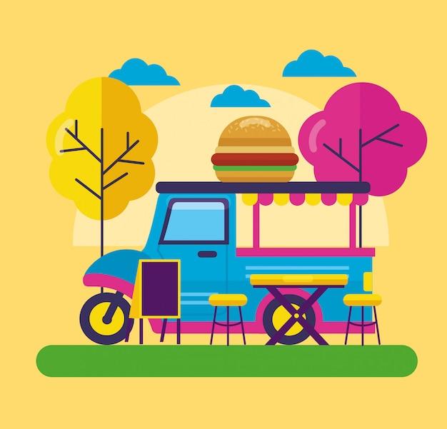Фестиваль грузовиков с едой