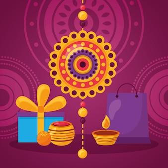 ハッピーラクシャバンダンお祝い