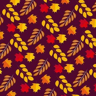 幸せな感謝祭のパターン