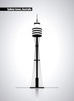 Сиднейская башня австралии