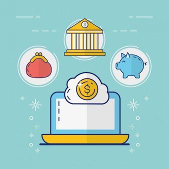 オンライン支払いのコンセプト