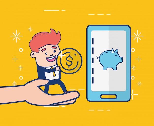 Человек онлайн-банкинга
