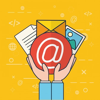 Отправить концепцию электронной почты