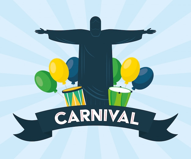 ブラジルのカーニバル祭りの背景