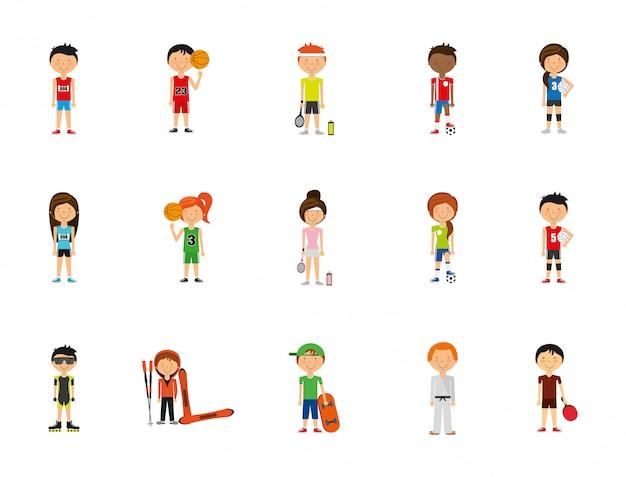 Спортивный набор иконок