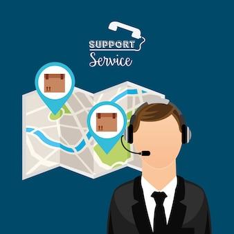 Дизайн службы поддержки