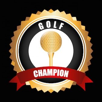 ゴルフ選手権デザイン