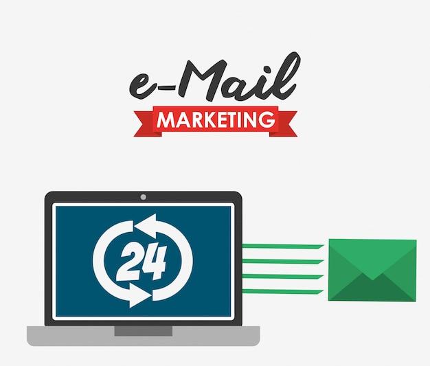 電子メールマーケティングの図
