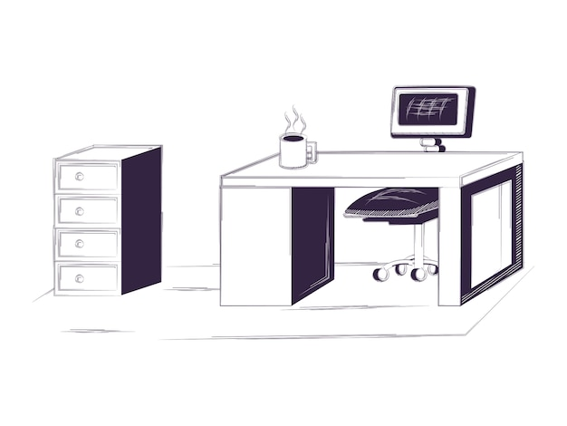 机と事務用品